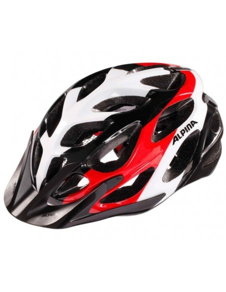 Alpina Mythos 2.0 kask rowerowy - Black White Red
