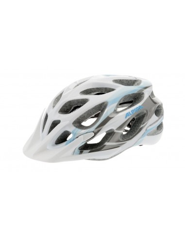 Alpina Mythos 2.0 kask rowerowy - White Lightblue Darksilver