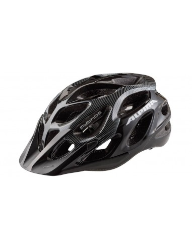 Alpina Mythos 2.0 kask rowerowy - BLACK WHITE LINES