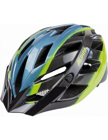 Alpina Panoma kask rowerowy -White Cyan Green
