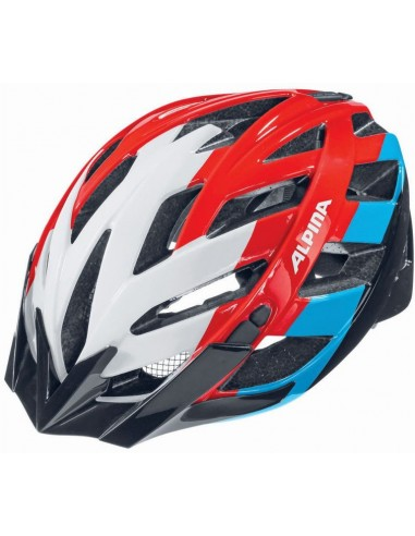 Alpina Panoma kask rowerowy - White Red Blue
