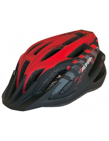 Kask rowerowy Alpina TOUR 2.0 - Black - Red