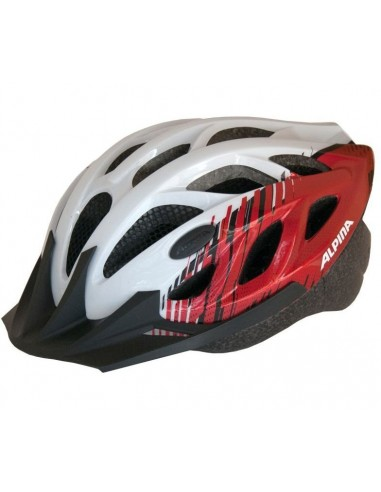 Kask rowerowy Alpina TOUR 3 - White Red
