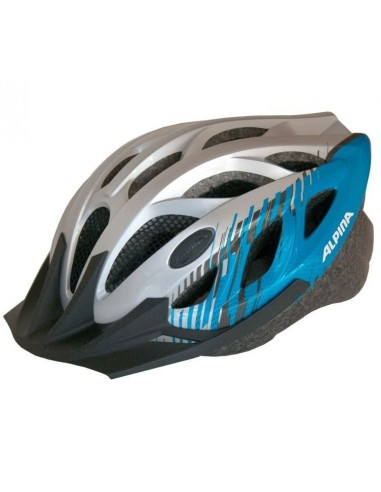 Kask rowerowy Alpina TOUR 3 - Silver Blue