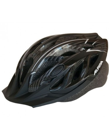 Kask rowerowy Alpina TOUR 3 - Black Carbon