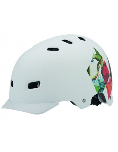 Kask freestyle Alpina Park - White Print