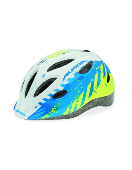 Alpina Gamma 2.0 kask rowerowy - Blue-Lime