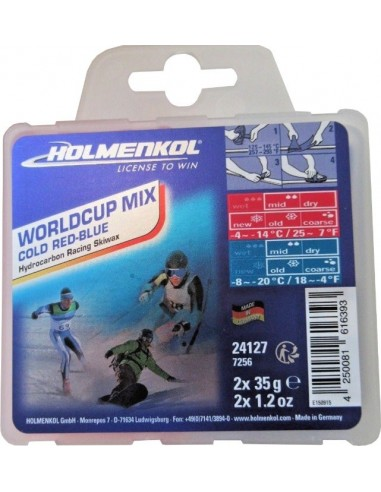 Smar WorldCup Mix Hot red-blue 2*35g...