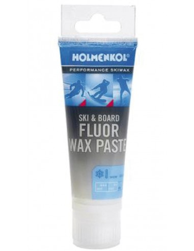 Fluorowy smar do nart z gąbką Fluor Wax Paste - 75 ml Holmenkol